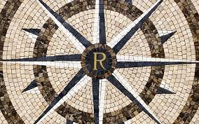 wine room compass richard finch tiles mosaic vancouver bc