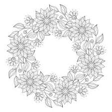 Flower Coloring Pages Design Inspiration Adult Flowers