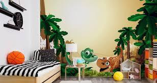 muralo fototapete kinderzimmer 208 b x 146 h cm vlies tapete wandtapeten dinosaurier dschungel pflanzen bäume kinderwelt jugend moderne wandbilder
