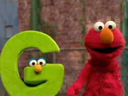 ▷ sesame street cookie monster letter of day skit letter E