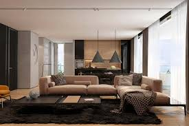 Apartment Living Room Ideas Brownie Design With Pendants Light Triangle Sides Amazing And Piles Carpet Unique