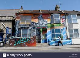 Famous Graffiti Mural Artists by Brighton Uk June 2015 Homes In Viaduct Road Adorned With Large