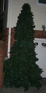 Huge 16 Ft Christmas Tree Pre Lit W Blue Led Bulbs By Classics