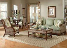 Rattan And Wicker Living Room Furniture Sets