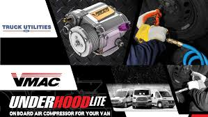 V-Mac Under Hood Lite Onboard Air Compressor For Your Van ...