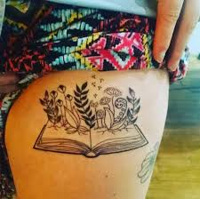 40 Amazing Book Tattoos For Literary Lovers
