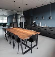industrial style in der küche warme farben funktionales