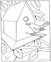 Free Coloring Pages For Adults Letscoloringpages Bird