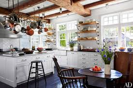 In Sir Evelyn And Lady De Rothschilds Marthas Vineyard Getaway The Kitchens Pot Rack Is