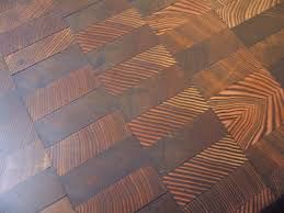 end grain wood floors by kaswell apartment therapy
