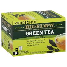 Bigelow Classic Green Tea K Cup Pods 12 Ea Pack Of 6