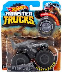 100 Shark Wreak Monster Truck Hot Wheels S MegaWrex 164 DieCast Car Collectible