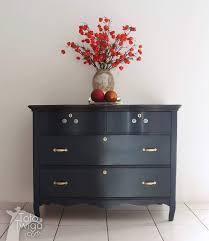 Tiger Oak Serpentine Dresser by Serpentine Dresser In Pretty Coastal Blue General Finishes