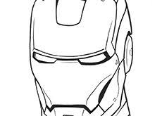 Download Ironman Coloring Pages In Many Resolutions Bellow Sizes 150 X 230 165
