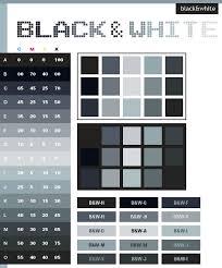 Black White Color Scheme