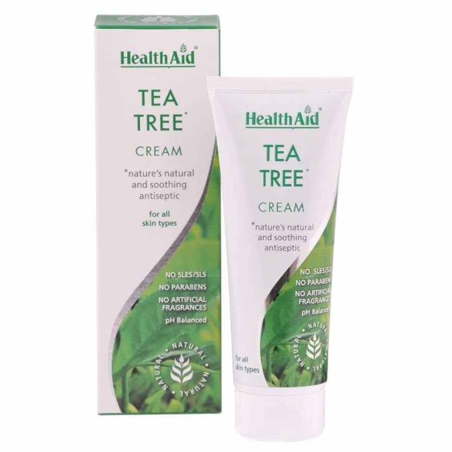 Health Aid Tea Tree Cream - 75ml