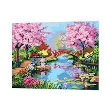 Spring Scenery Of South Yangtze River Paint By Numbers Buy Oil Number Kits Cheap