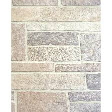 Lowes Canada Cabinet Refacing by Provincial Wallcoverings 2604 21259 Brickwork Pewter Exposed Brick