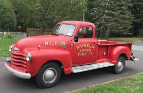 100 Fire Trucks Unlimited Little Red Truck 1952 Chevy Pickup
