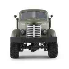 JJR/C Q60 1/16 2.4G 6WD RC Off-road Crawler Military Truck Army Car  Children Gift Kids Toy For Boys RTR