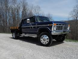 1977 Ford F-250 Crew Cab On Dodge 3500 Chassis 6.7 Cummins F-350 F ...