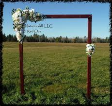 Rustic Outdoor Wedding Ideas Country Decor Arch Red Oak Shipping Included