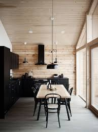 100 Pictures Of Interior Design Of Houses Modern Of A Log House Plays With Contrasts