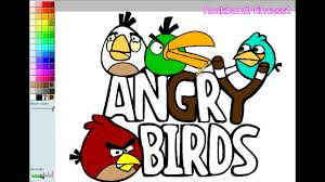 Angry Birds Paint And Color Games Online