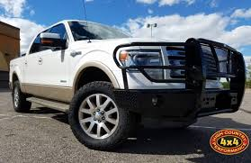 100 Build Ford Truck 2013 FORD F150 WHITE KING RANCH