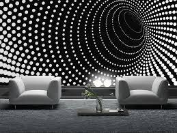 Mural Wallpaper 1wall Black And White Buddha Statue Zen