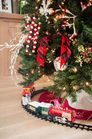 Train Christmas Tree Decorating Ideas Home Bunch Interior Design