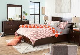 King size Orange Gray Fresh Start 3 piece forter Set