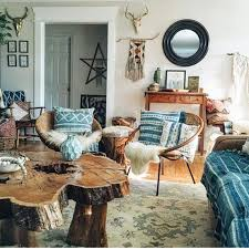 Modern Rustic Bohemian Living Room Design Ideas 72