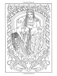 Coloring For Adults The Awesome Web Vampire Book