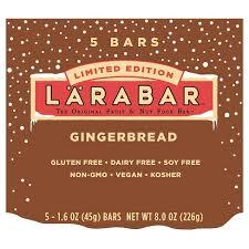 Larabar Gingerbread Nutrition Bars