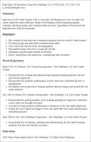 Call Center Resume Sample From Page 8 Best Example Resumes 2018 Suiteblounge