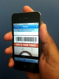 Smartphone App Bypasses Printed Paper Tickets
