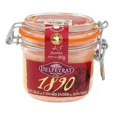 1890 foie gras de canard entier du sud ouest 180g magasin