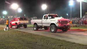 100 Ford Trucks Vs Chevy Trucks Big Big Tug Of War At Wapak Tug Fest Power ZonePower