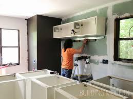 Ikea kitchen cabinet installation