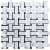 8 95 free shipping basketweave marble mosaic tiles for bathroom