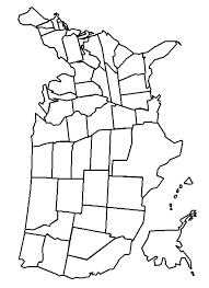 United States Map Coloring Page Book