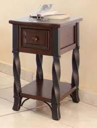 crown mark pierce chair side table espresso dimensions 12 00