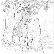 The Official Outlander Coloring Book By Diana Gabaldon Claire Randal In 1945 Stone