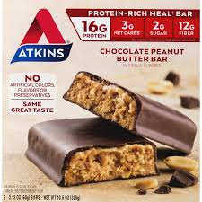 Atkins Chocolate Peanut Butter Bar, 2.1oz, 5-pack (Meal ... Atkins Chocolate Peanut Butter Bar 21oz 5pack Meal Amazoncom Special K Protein Strawberry 6count 159 Pure Pro 21 Grams Of Deluxe 176 Oz 6 Ct Replacements Shakes Bars More Gnc Chip Granola 17oz Replacement Healthy 15 That Are Actually Highprotein Myproteincom Weight Loss Diet Exante Slim Fast Shakes 1 Month Nutrisystem Soy Coent Top 10 Best Ebay Nutritional Amazoncouk The Orlando Dietian Nutritionist