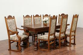 Danish Dining Table Set | Set Of 6 Danish Teak Dining Chairs Made In ...