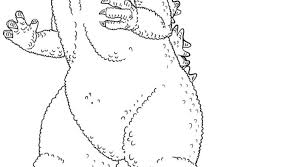 Cool Image Gallery Of Godzilla Coloring Pages Ideal Intended For Your Children