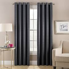 Sound Deadening Curtains Bed Bath And Beyond by Cheshire Grommet Top Lined Window Curtain Panel Bed Bath U0026 Beyond