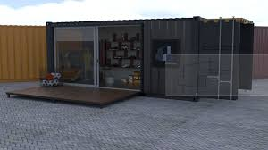 100 Shipping Containers Converted Container Pop Up Shops S3DADESIGN CONTAINER