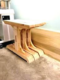 Farmhouse Table Legs Diy Full Image For Dining Wood